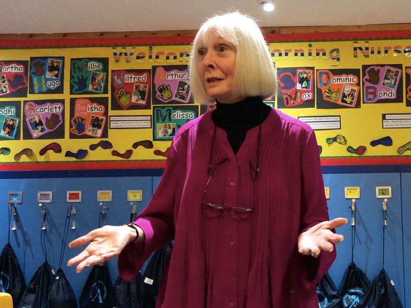 Noel Janis-Norton at the Avenue Pre-Prep and Nursery Highgate